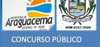 EDITAL 002/2017 DE CONVOCAÇÃO DO CONCURSO PÚBLICO .