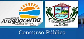 SAI NOVO EDITAL DE CONVOCAÇÃO DO CONCURSO PÚBLICO 2017.