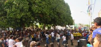 06/09/2019-Momento Cívico reúne a população de Araguacema em comemoração ao Dia da Independência do Brasil