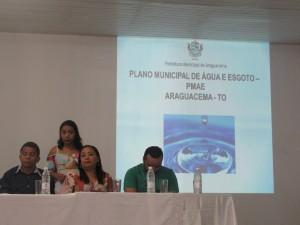 Plano Municipal de Água e Esgoto.