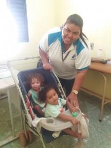 Enfermeira em Atendimento Pediátrico