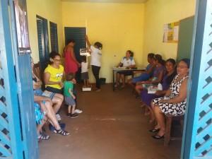 Pacientes do P.A. Santa Clara