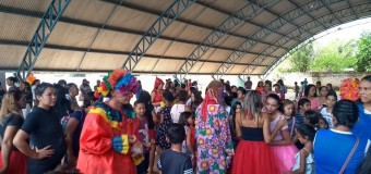 11-10-2019 A PREFEITURA DE ARAGUACEMA COMEMORA O DIA DAS CRIANÇAS