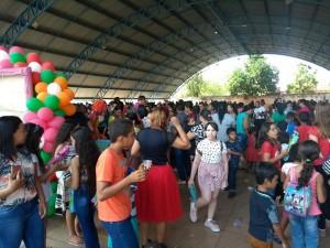 Araguacema se fez presente em peso na festa das crianças;