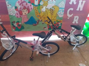 Bicicletas modelo infantil Masculino e Feminino;