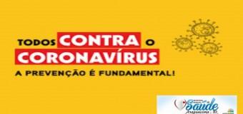 18/03/2020-ARAGUACEMA CONTRA O CORONAVÍRUS