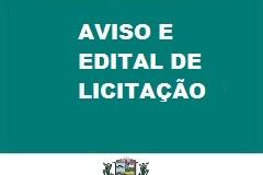 21/08/2020-AVISO E EDITAL DE LICITAÇÃO