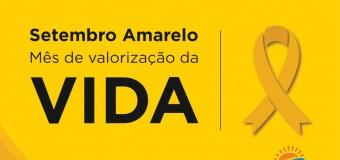 """01/09/2020-ÍNICIO DA CAMPANHA""""SETEMBRO AMARELO""""."""