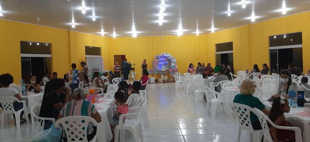 População presente no evento.
