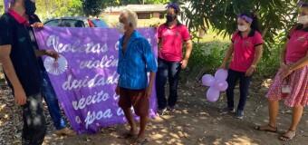 18.06.2021 A Prefeitura Municipal, através do CRAS, realizou uma ação de conscientização sobre a violência contra a pessoa idosa
