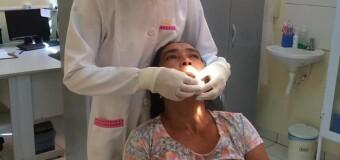 A Secretaria Municipal de Saúde e Saneamento continua atendendo os pacientes do Programa Brasil Sorridente.