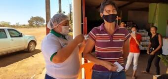 Secretaria Municipal de Saúde e Saneamento aplica vacina contra a Covid-19 no P.A Tarumã