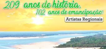 LIVE 209 ANOS DE HISTÓRIA, 102 ANOS DE EMANCIPAÇÃO!