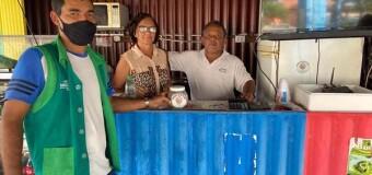 Secretária e Coordenador de Meio Ambiente realizam visita para acompanhamento do Projeto Lacre do Bem
