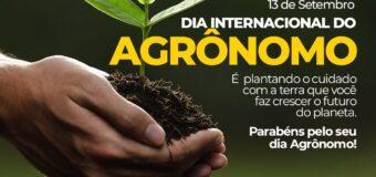 Dia Internacional do Agrônomo