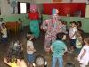 Crianças na Creche Municipal recebem as Palhaças!