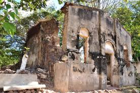 Ruínas da igreja Nossa senhora da Divina Providência(Antigo Presidio)