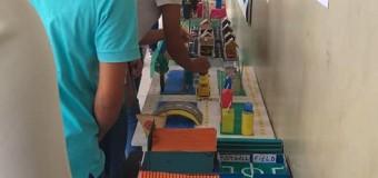01/10/2019- Colégio Estadual de Araguacema faz trabalho com maquetes