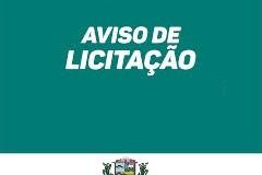 30/10/2019- AVISO  DE LICITAÇÃO