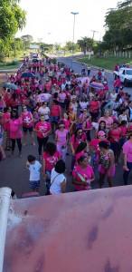 Desfile nas ruas