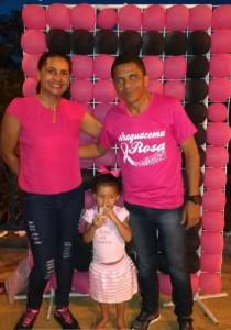 Vice-Prefeito Wamistom Gomes e família.