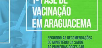 21.01.2021 Ações Covid-19/ Araguacema recebe as primeiras doses da CoronaVac