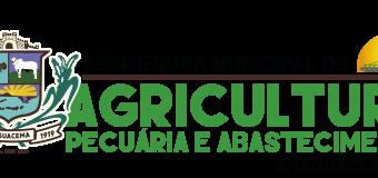 04.05.2021 Novo Secretário de Agricultura Pecuária e Abastecimento