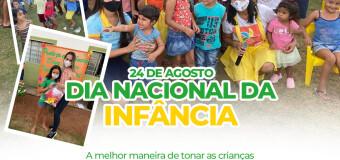 24 de agosto Dia Nacional da Infância