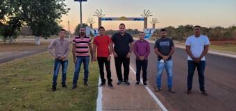 Prefeito Marquinho juntamente com os vereadores de Araguacema viajam para Brasília