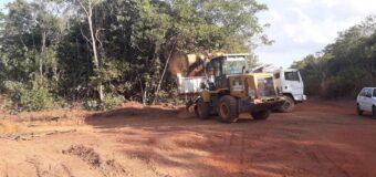 Recuperação das estradas vicinais do P.A Canaã