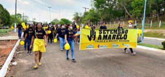 Caminhada a favor da vida – Setembro Amarelo