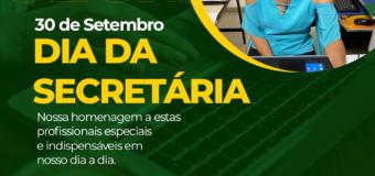 DIA DA SECRETÁRIA!!