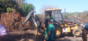 Limpeza e Recuperação da área degradada do lixão de Araguacema