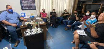 Prefeito Marquinho realiza reunião para discutir sobre o Selo Unicef