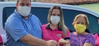 Prefeito Marquinho destina Camionete para Secretaria de Desenvolvimento Social