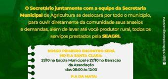 PROGRAMA SECRETARIA AMIGA DO AGRICUTOR