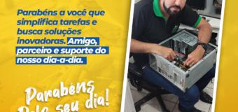 DIA DO PROFISSIONAL DE INFORMÁTICA!!